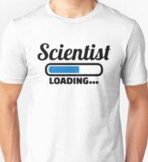 Scientist loading Unisex T-Shirt