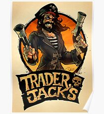 The Pirate Trader Jack Poster
