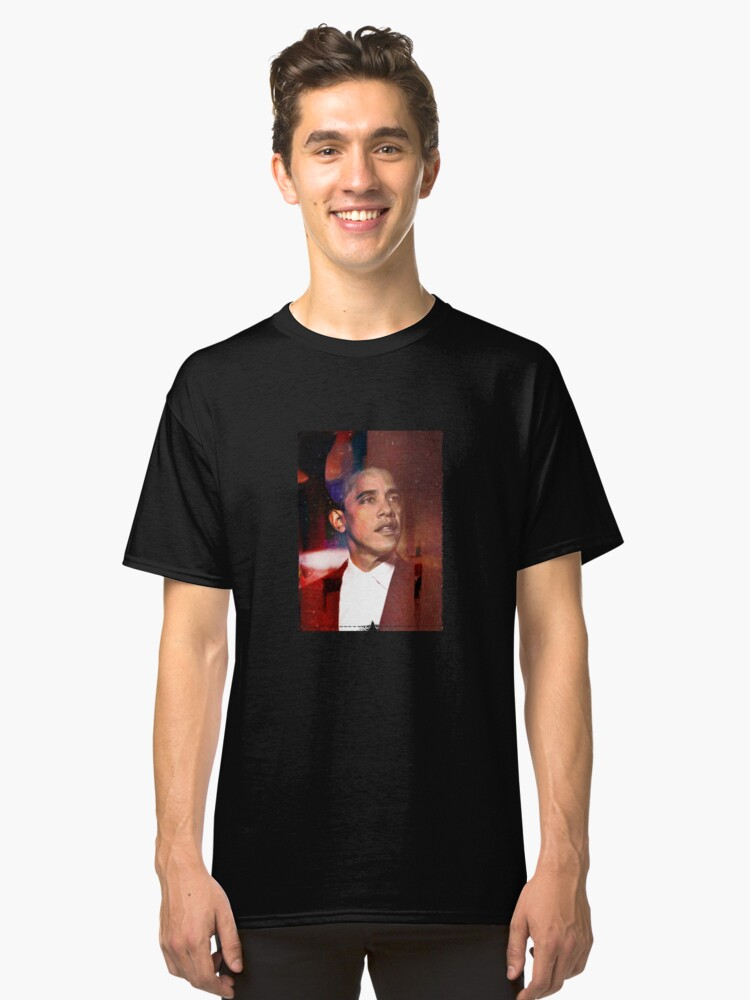 Obama Classic T-Shirt Front