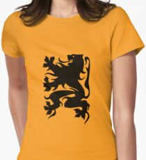 Vlaamse Leeuw Womens Fitted T-Shirt