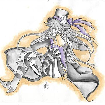 Tea Time Undertaker! by durzarina