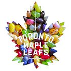 New Toronto Maple Leafs logo with Jelly Bellies 2 by James Hetfield