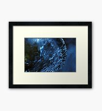 A cold planet Framed Print