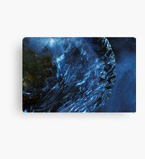 A cold planet Canvas Print