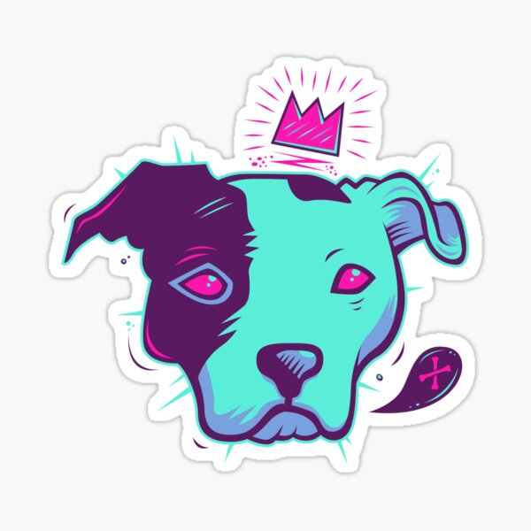 Electric Pit King Sticker