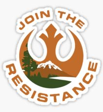 US National Park Resistance Sticker