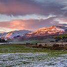 Ochil Hills view from Clackmannan by Jeremy Lavender Photography