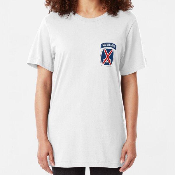 10th Mountain Slim Fit T-Shirt