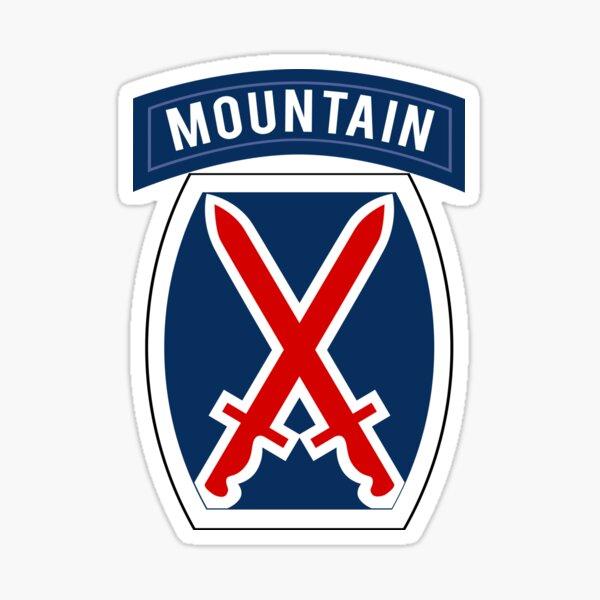 10th Mountain Sticker