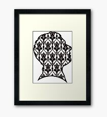 John - 221b wallpaper Framed Print