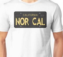 Nor Cal Old License Unisex T-Shirt