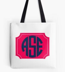 AES(ASE) intials  Tote Bag