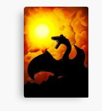 Dragons' Den Canvas Print