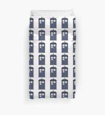 Blue Tardis Doctor Who | Cult tv Duvet Cover