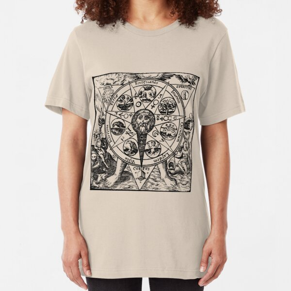 Medieval Alchemy  Slim Fit T-Shirt