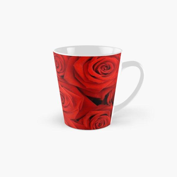 Red Spectacular Roses Tall Mug