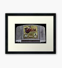 Zelda Time Framed Print