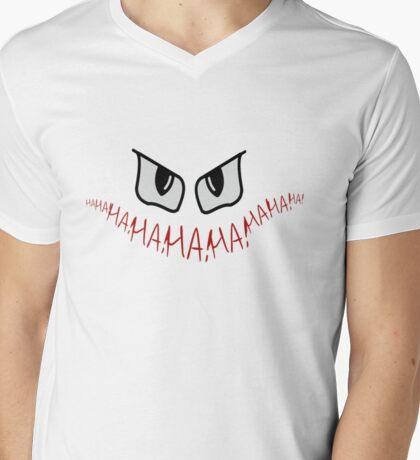 Joker Gotham Logo Mens V-Neck T-Shirt