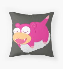 OISHI SLOWPOKE SUSHI Throw Pillow