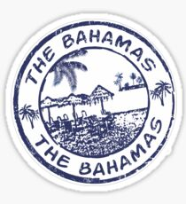 The Bahamas Travel Stamp Sticker