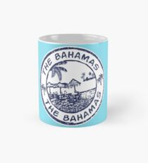 The Bahamas Travel Stamp Mug
