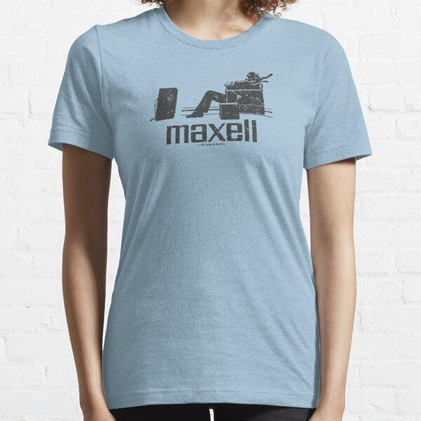 Maxell (black) Essential T-Shirt