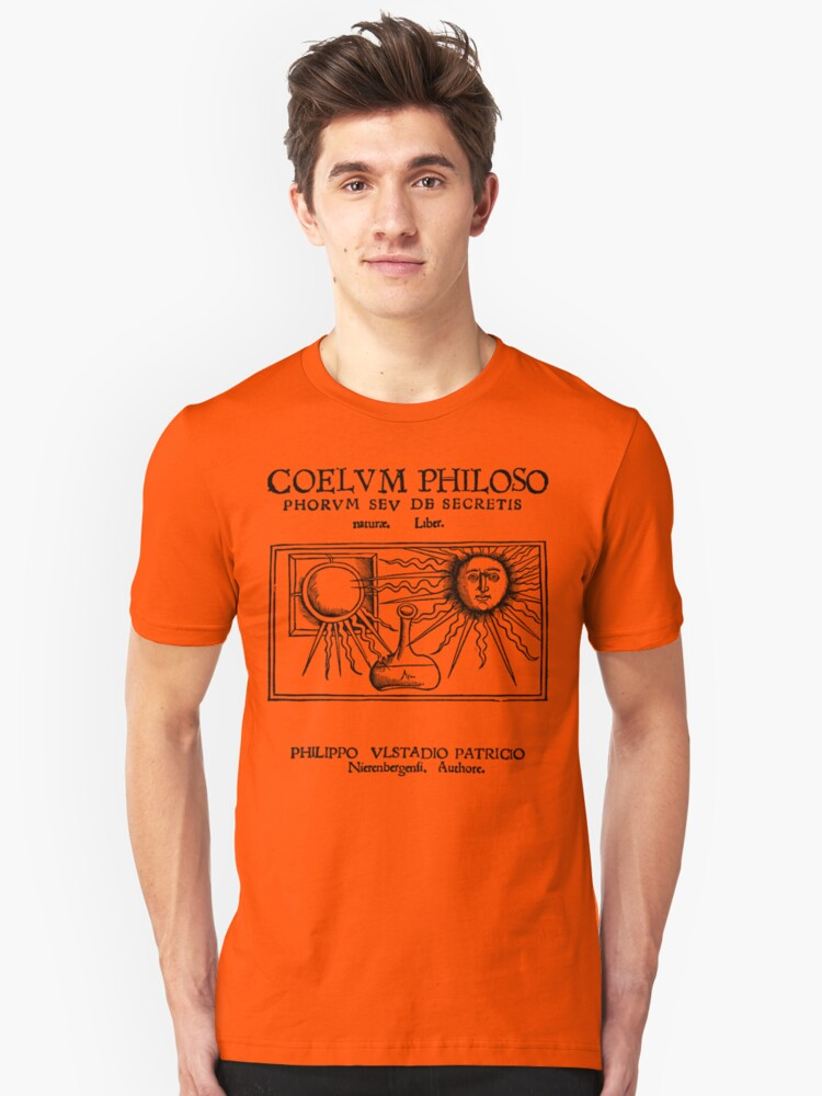 Coelum Philosphorum - Medieval Alchemy Unisex T-Shirt Front