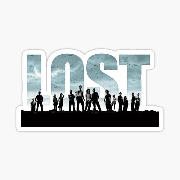 Lost Show Sticker