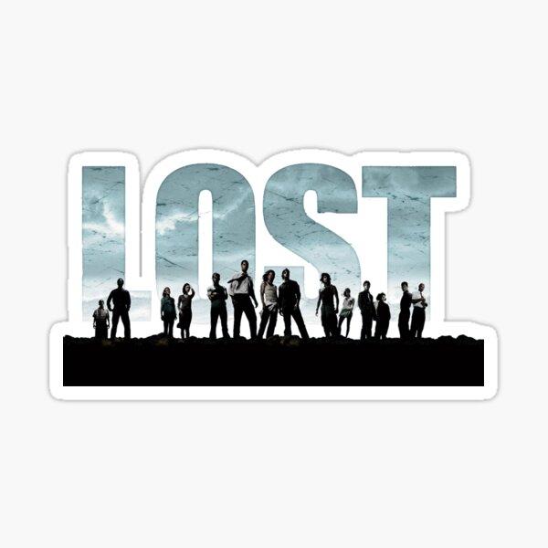 Spectacle perdu Sticker