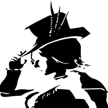 Mad Moxxi silhouette v2 by Jathemon
