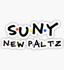 New Paltz 90's Sticker