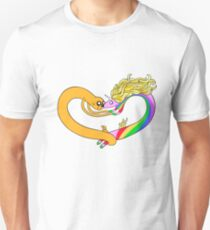 Adventure time Jake the dog and Lady Rainicorn Unisex T-Shirt