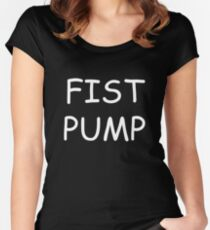 Fist Pump Women's Fitted Scoop T-Shirt