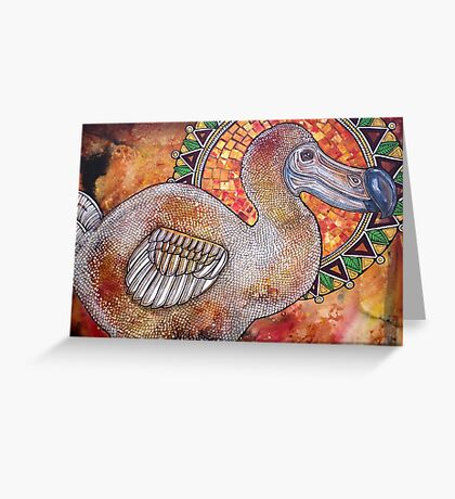 Remember the Dodo II Greeting Card