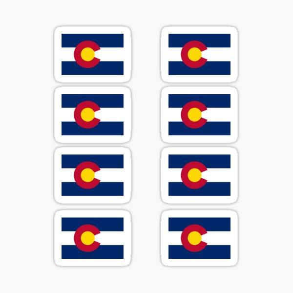 Colorado USA State Flag Stickers Sticker