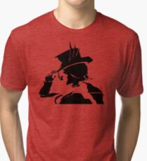 Mad Moxxi silhouette v2 Tri-blend T-Shirt