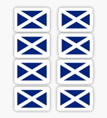 Scottish Independence Flag Stickers - Scotland Sticker Sheet Sticker