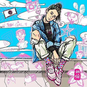 Japan Girl by TCHANG-TSUNG