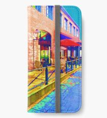 Charleston downtown colors iPhone Wallet/Case/Skin