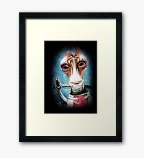 Mordin Solus - Mass Effect Framed Print