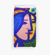 Homage To Picasso  Duvet Cover