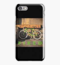 Green Fixie iPhone Case/Skin