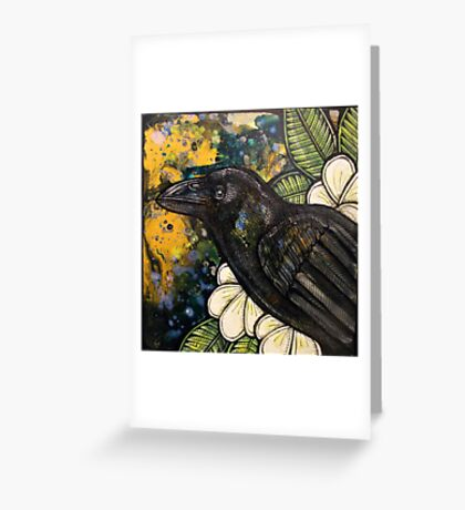 Alala (Hawaiian Crow) Greeting Card