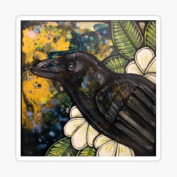 Alala (Hawaiian Crow) Sticker