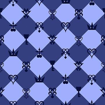 Kingdom Hearts - Tile by gysahlgreens