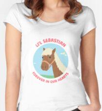 Li'l Sebastian - Parks and Recreation Women's Fitted Scoop T-Shirt
