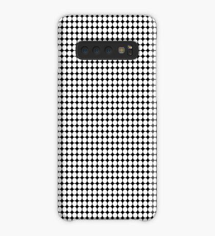 White Polka Dots  Case/Skin for Samsung Galaxy