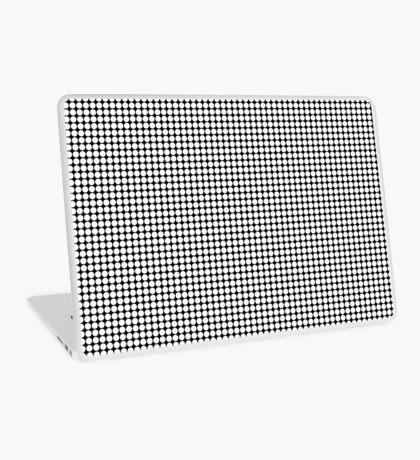 White Polka Dots  Laptop Skin