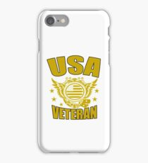 USA VETERAN Gifts Disabled Americans Retired Vets  iPhone Case/Skin