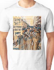 Womens March Same Shit Different Century 2017 Suffragists Human Rights America   Unisex T-Shirt